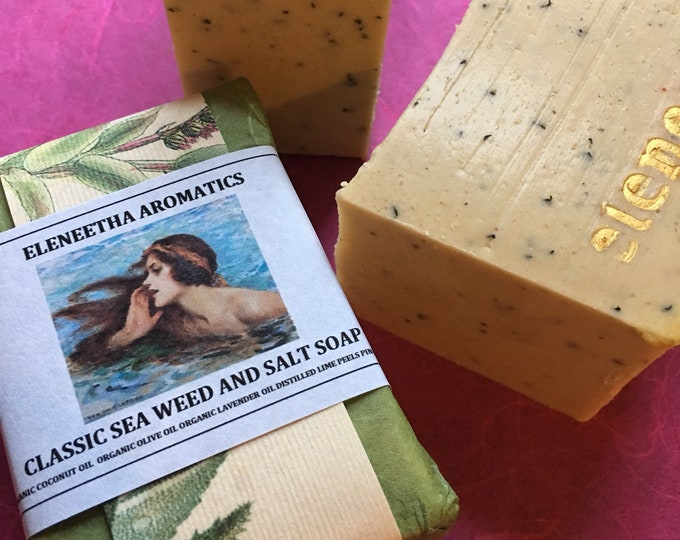 Classic Seaweed And Himalayan Pink Salt Soap