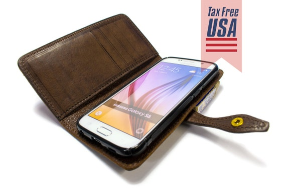 NEW S9/S9 Plus Samsung Galaxy NOTE 8/S8/S8Plus/S7/S7Edge/S6/S6Edge/S6EdgePlus Leather Case with credit card holder Flip Book col CHOOSE