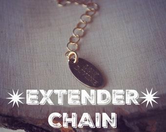 EXTENDER CHAIN /// 2'' Chain Add On