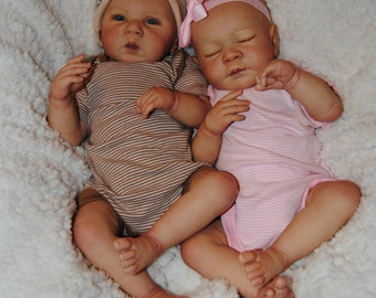 Twin Surprise Reborn Lifelike Art Dolls * Realistic Baby Doll * Collectible Dolls * Reborn Baby * Newborn Boy Or Girl