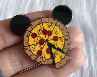 Mickey Pizza - Enamel Pin