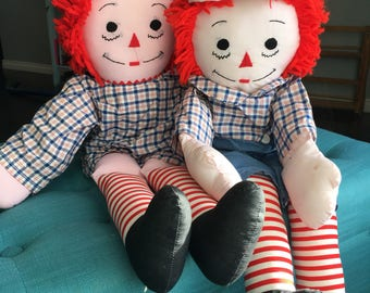 Raggedy Ann and Andy 24 in Dolls