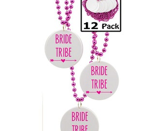 Party Favors for Bachelorette Party, Bride Tribe, 12 Count