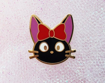 Jiji | Kiki's Delivery Service | Hard Enamel Pin | Gold Plated