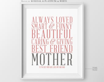 Christmas Gift for Mom Gift Mom Birthday Gift for Mother Gift for Mothers Day Gift Wedding Gift for Mom Mother of the Bride Gift