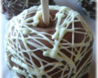 Chocolate Covered Caramel Apples Favor Gifts