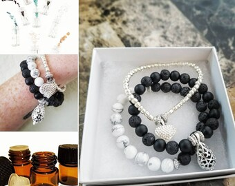3 set Bracelet Essential Oil Diffuser Jewelry