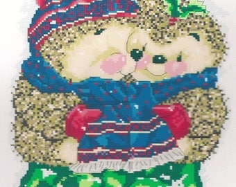 "collection ""Hedgehogs"" 40 x 35 cm cross-stitch Embroidery Kit"