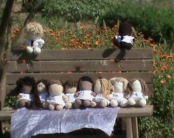 Made to Order Custom Crocheted Doll