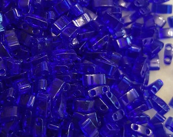 Tila 1/2 Cut 5mm Trans Cobalt