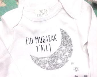 Eid Mubarak y'all, Eid for baby wear. Muslim Aqeeqah gift