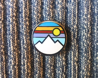 Mountain - Hard Enamel Pin