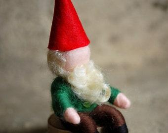 Gnome, Wool fairy tale, Waldorf inspiration