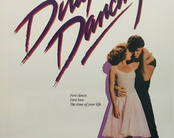Wall Art, Movie Poster, Dirty Dancing, Patrick Swayze, 24 x 36 poster
