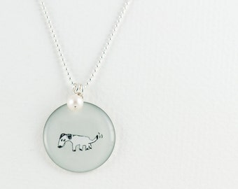 Custom Dog Necklace | Sterling Silver Jewelry | Personalized Pet Pendant | Puppy Pendant | Animal Lover Jewelry | Gift for Pet Parent
