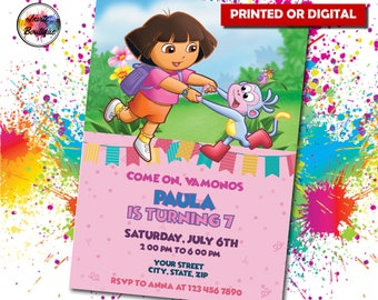 Dora party Etsy