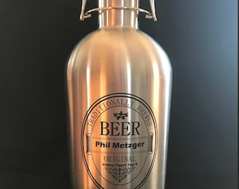 64 oz. Stainless Steal Beer Growler