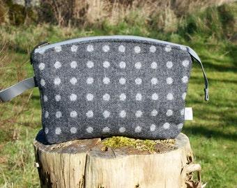 Tweed Wash Bag - Barden Fell