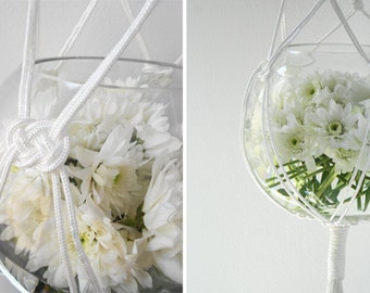 Macrame Hanging Vase