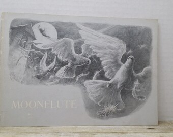 Moonflute, 1980, Audrey and Don Wood, vintage kids book