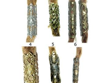 pick style: filigree dread bead