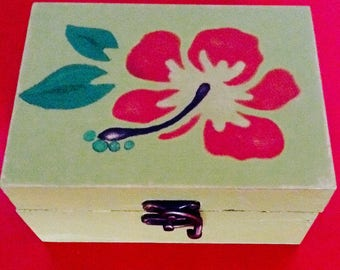 Wooden box Pack with card