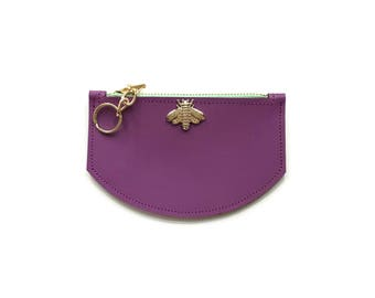 Bee Wallet in Radiant Orchid