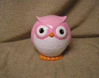 WHOOOOTIFUL Stoutly Mama Owl Bank Pinks