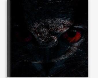 Original Canvas Print: 'The Watcher II' | *FREE SHIPPING*