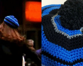 Mary Tyler Moore 70's style crochet tam  beret retro fashion hat  gift idea hat toss 70's television
