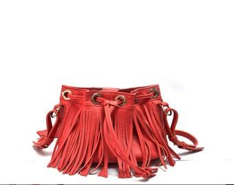 Womens bag, small crossbody bag, leather shoulder bag, leather purse, leather handbag women