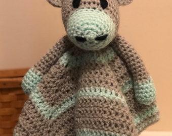 Crochet Giraffe Lovey