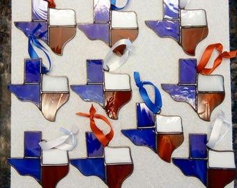 Stained Glass Texas Suncatchers