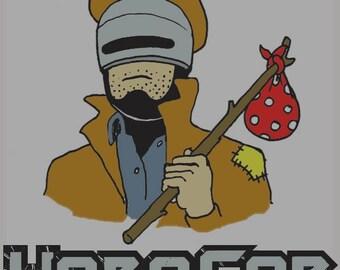Hobocop Mens T-Shirt Robocop