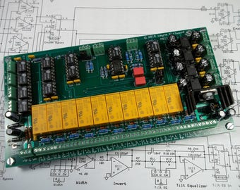 MS Matrix Mid-Side Encoder Decoder Second Generation Assembled and Tested PC Board for Audio Mastering