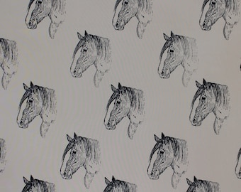 """Draft Horse Fabric Clydesdale BEST All Cotton Ever """"Feels Like Silk"""" by Northcott Fabrics for Hot Diggity Dog Fabrics Craft Supplies & Tools"""