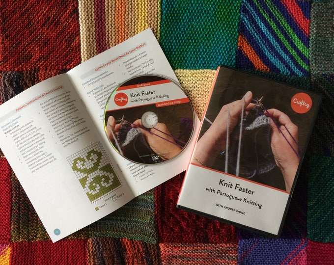 Knit Faster with Portuguese Knitting - Craftsy Class DVD