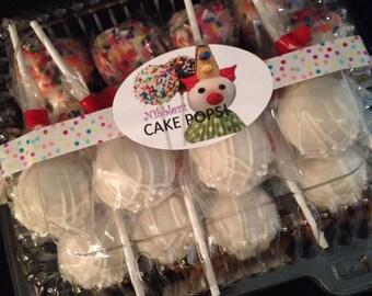 SUGAR FREE Sampler Box of 16 cake pops