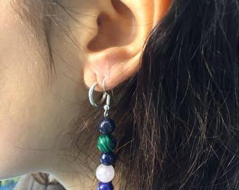 Multi colour earrings