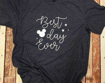 Best Day Ever Disney Mickey Vacation tee shirt t-shirt