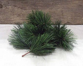 Very Pretty, Realistic Evergreen Picks - In a Package of 10 Stems