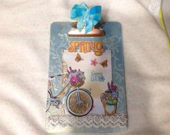 Spring altered clipboard