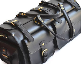 Leather Duffle Bag, Weekender Bag, Mens Leather Travel Bag, Weekend Bag Men, Gym Bag, Leather Overnight Bag, Leather Carryon, Luggage Duffel