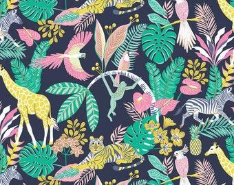 Fabric cotton Tropical Paradise