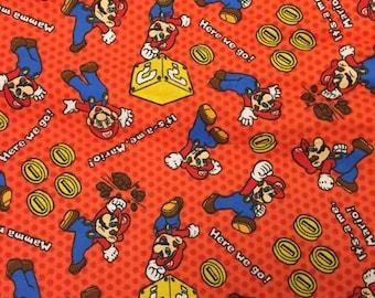 Nintendo Mario Blanket