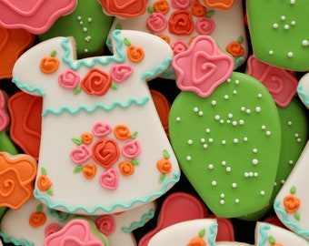 Sweet Sugarbelle Cactus with Flower Cookie Cutter and Fondant Cutter and Clay Cutter
