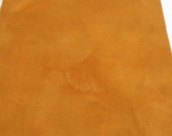 Quilting teint - tissu de laine tapis de laine de - couleurs d'automne - l'automne or accrocher - applique et l'artisanat - courtepointe - primitif - or-055