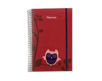 2018 Planner | Weekly Planner | 2018-2019 Organizer | Personalized Planner | Weekly Monthly Planner | Weekly Organizer | Agenda Planner