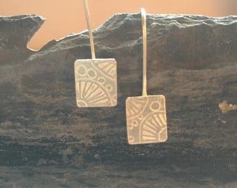 Sweet William inspired earrings