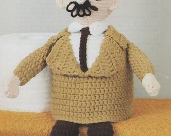 Sam Sleuth, Annie's Attic Crochet Super-Sleuths Pattern Leaflet 87M01